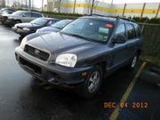 Hyundai Santa Fe,   2003 г.в.,  объем 2.7,  АКП в разборе