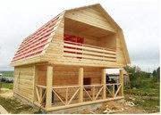 Продам недорого сруб Дома-Бани 6х7, 5 м из бруса с установкой в ПИНСКЕ