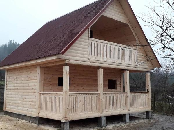 Строительство домов,  бань,  беседок из проф. бруса. Пинск 9
