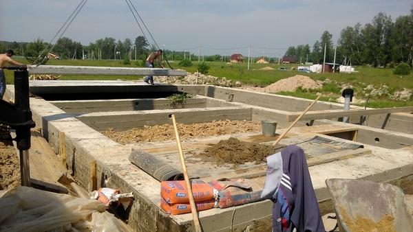 Фундамент,  Подьем Домов,  Строим дома под ключ в Пинске 5