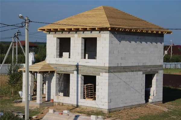Фундамент,  Подьем Домов,  Строим дома под ключ в Пинске 8